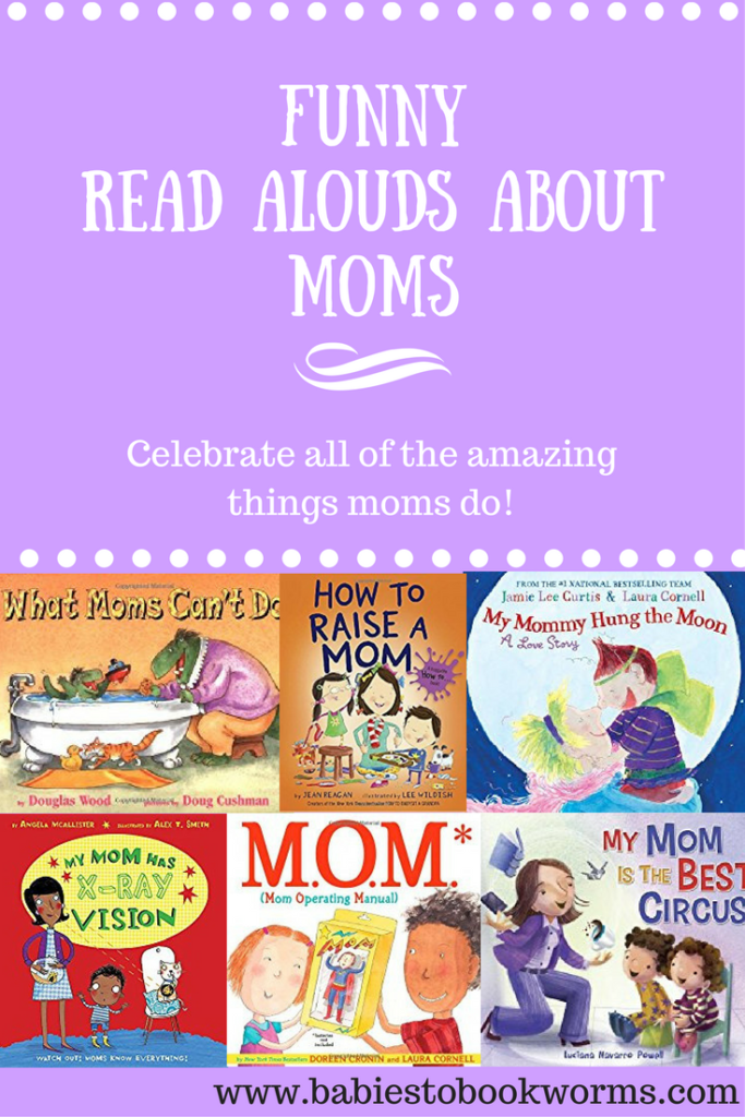 Funny Books About Moms | Celebrating Mom