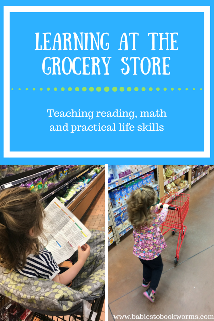 Reading At The Grocery Store