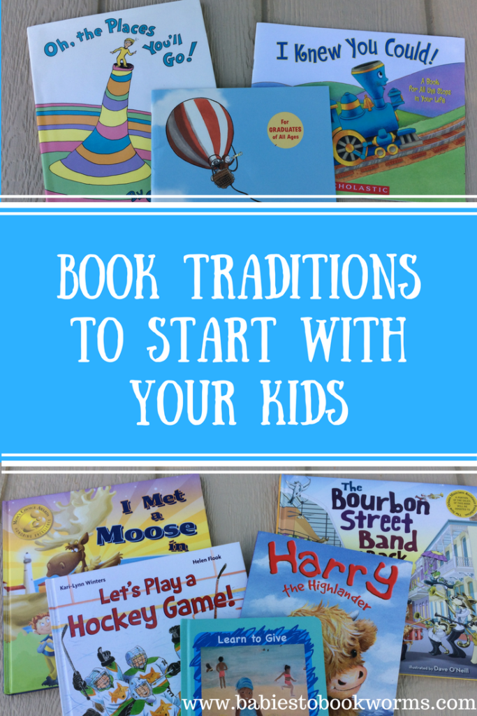 Book Traditions to Start With Your Kids