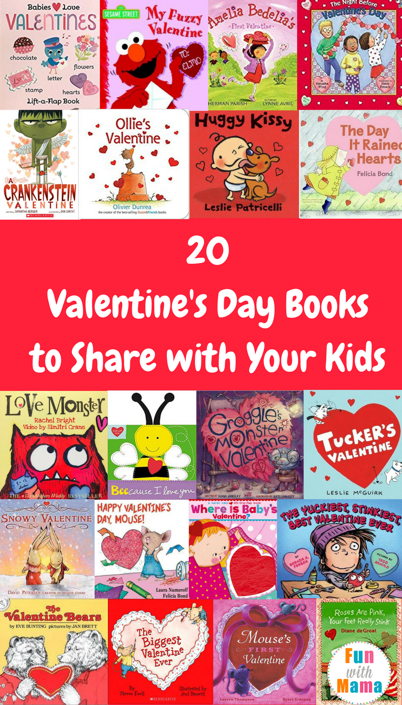 valentines day books for preschoolers